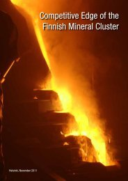 Competitive Edge of the Finnish Mineral Cluster - Finstone