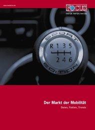 Der Markt der Mobilität - FOCUS MediaLine