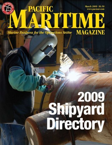 Developing a Marine Vessel Environmental Rating System, Pacific ...