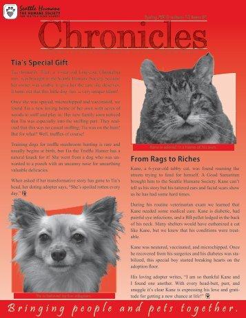 B ringingpeopleandpetst ogether - Seattle Humane Society