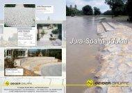 Jura-Spaltprodukte - H. Geiger GmbH Stein