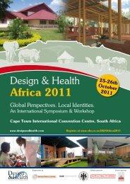 Design & Health International Symposium & Workshop - the ...