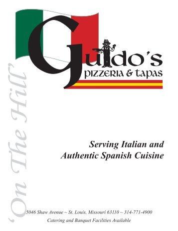Serving Italian and Authentic Spanish Cuisine
