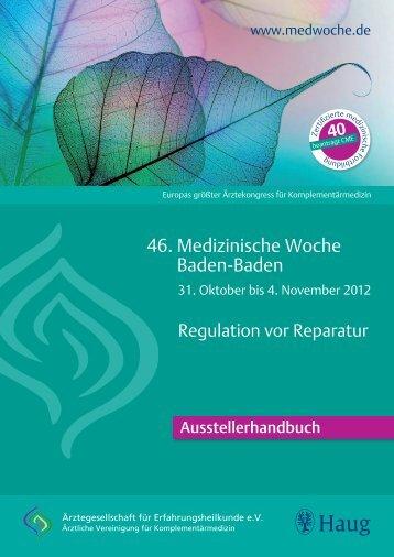 1 - Medizinische Woche Baden Baden