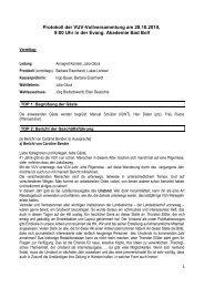 28.10.2010 Protokoll der Vollversammlung (pdf) - VUV