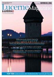 LucerneMagazine - Neue Luzerner Zeitung