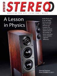 A Lesson in Physics - Wavecor