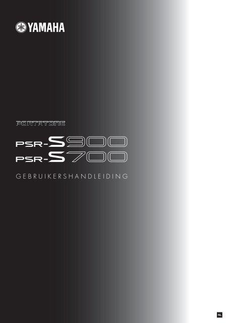Yamaha Keyboard PSR S700/S900 - Clavis Piano's