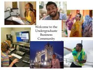 New Majors Orientation Fall 2013 - Mason School of Business