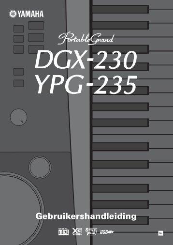 Yamaha Digitale Piano DGX 230 - Clavis Piano's