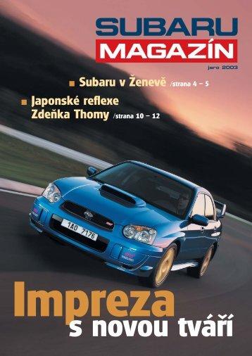 Jaro 2003 - Subaru Brno