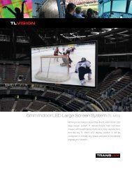 6mm Indoor LED Large Screen System (TL-IV6S) - signSearch