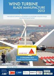 Wind Turbine Blade Manufacture 2013