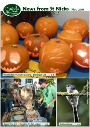 St Nicks News November 2011 - St Nicholas Fields