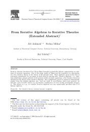 From Iterative Algebras to Iterative Theories (Extended Abstract)