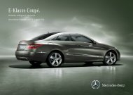 Download Preisliste E-Klasse Coupé - Mercedes-Benz Deutschland