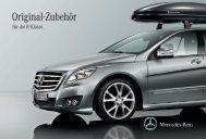 Original Zubehör für die R-Klasse - Mercedes-Benz Accessories ...