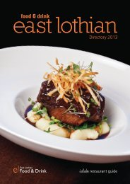 information - Food and Drink East Lothian