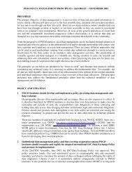 POGO DATA MANAGEMENT PRINCIPLES – 2nd DRAFT ...