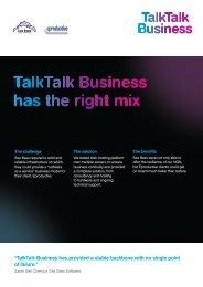 Seabass Case Study:Seabass Case Study - TalkTalk Business