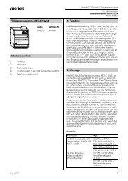 675001 Tableauansteuerung REG-K/12x24 - Merten