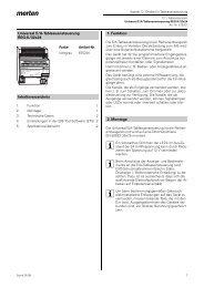 675201 Universal E/A-Tableauansteuerung REG-K/32x24 - Merten