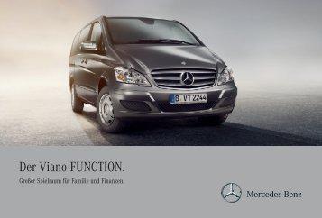 Der Viano FUNCTION. - Mercedes-Benz Deutschland