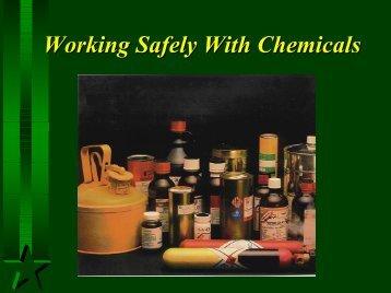 Hazard Communication Standard / Florida Right- to-Know