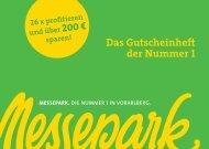 gutschein - Messepark Dornbirn