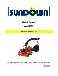 Wood Chipper - JS Woodhouse