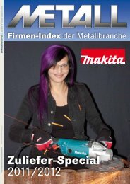 Zuliefer-Special 2011/2012 Download - Metall