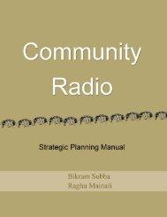 CR Strategic Planning Manual - amarc