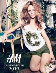 H&M Årsredovisning 2012 - About H&M