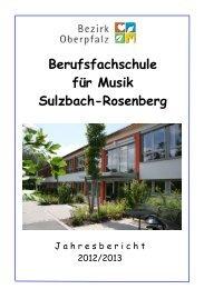 Jahresbericht - Bezirk Oberpfalz