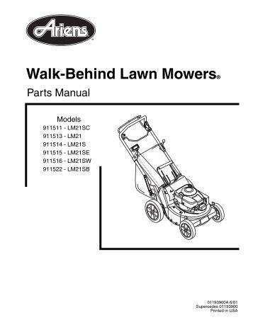 Bunton Hydro Walk Behind Mower
