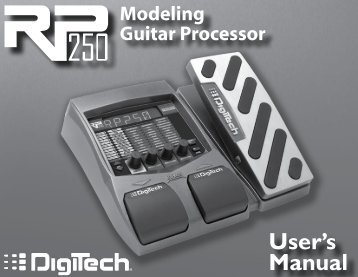 Models and Parameters - Digitech