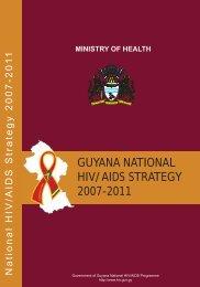 Guyana's National HIV/AIDS Strategy - PANCAP- Pan Caribbean ...