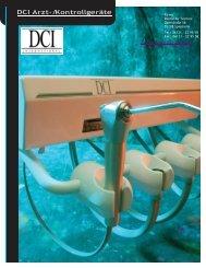 DCI Arzt- und Kontroll -Geräte - BEI MIDMARK DENTAL ...