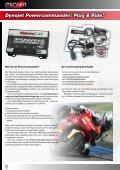NISSIN K&N-Filter Quickshifter Airboxumbauten Powercommander ... - Seite 4