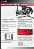 NISSIN K&N-Filter Quickshifter Airboxumbauten Powercommander ... - Seite 6