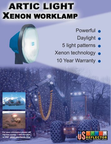 Artic light Xenon booklet.indd - US Reflector
