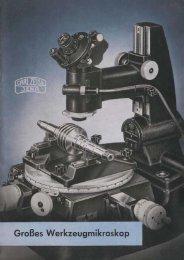 Grosses Werkzeugmikroskop - Optik-Online