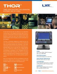 LXE THOR - Miles Data Technologies