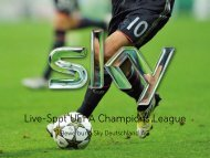 Live-Spot UEFA Champions League - SPONSORs Sports Media ...