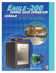 Eagle-200 Brochure (pdf) - Eagle Access Control Systems