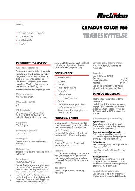 TRÆBESKYTTELSE - Rockidan
