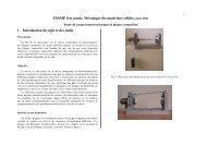 ENSMP 1ère année, Mécanique des matériaux solides ... - mms2
