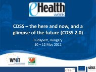 CDSS – the here and now, and a glimpse of the future (CDSS 2.0)