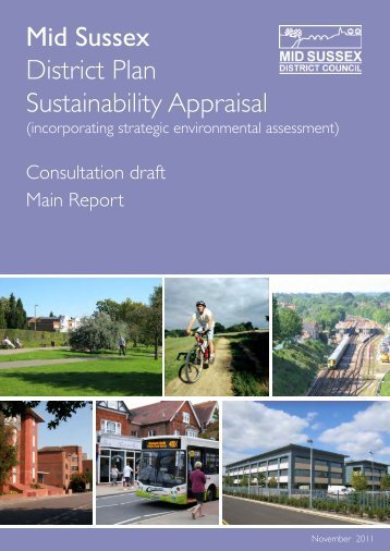 Sustainability Appraisal - Mid Sussex District Council