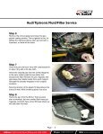 Audi Tiptronic Fluid/Filter Service - Page 5